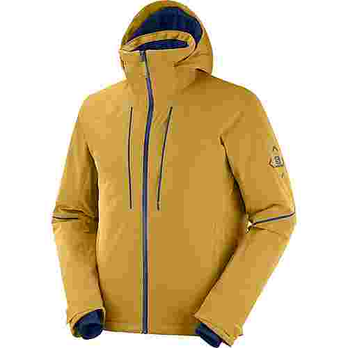 Salomon Edge Skijacke cumin/night sky