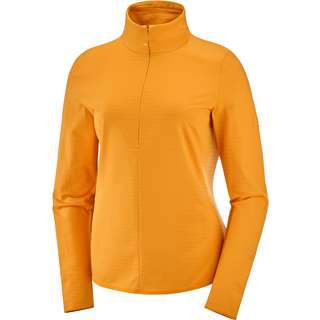 Salomon Outrack Funktionsshirt Damen autumn blaze