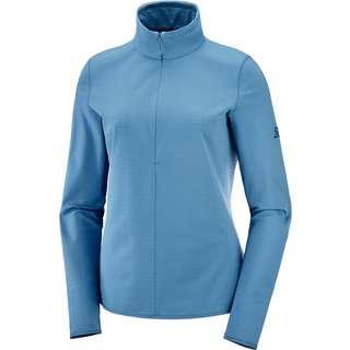 Salomon Funktionsshirt Damen copen blue