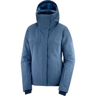 Salomon Skijacke Damen dark denim/copen blue