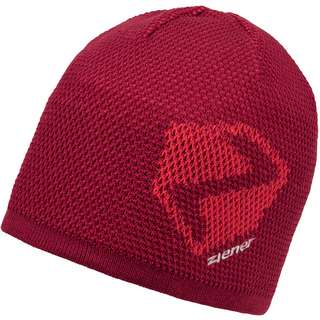 Ziener ILHAM Beanie red pepper