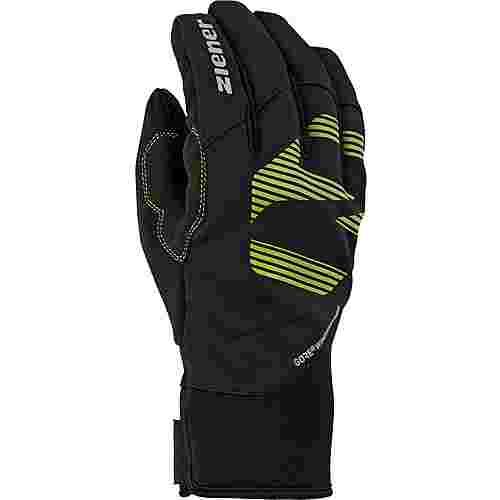 Ziener GORE-TEX® Fingerhandschuhe lime green