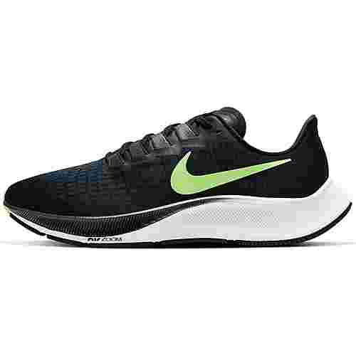Nike Air Zoom Pegasus 37 Laufschuhe Herren black-ghost green-valerian blue