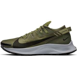 Nike PEGASUS TRAIL 2 Laufschuhe Herren medium olive-black-medium khaki