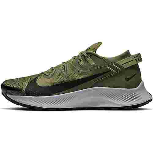Nike PEGASUS TRAIL 2 Laufschuhe Herren medium olive-black-medium khaki