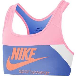 Nike Swoosh BH Kinder pink-royal pulse-white-atomic pink