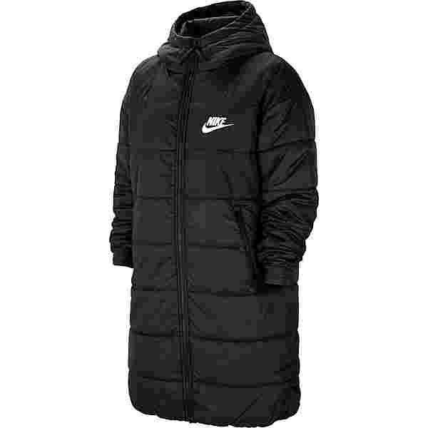 Nike NSW Core Steppmantel Damen black-white-white