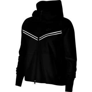 Nike Tech Fleece Sweatjacke Damen black-black