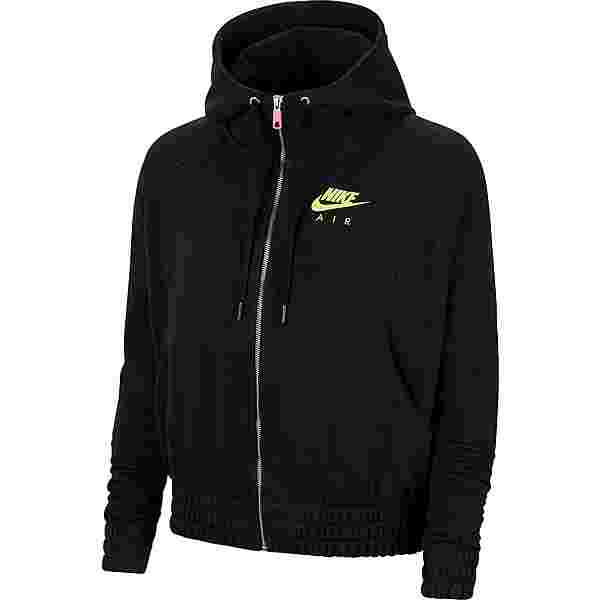 Nike NSW Air Sweatjacke Damen black-volt