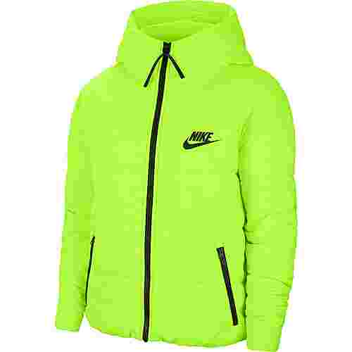 Nike NSW Core Steppjacke Damen volt-black-black