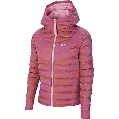 Nike NSW Steppjacke Damen desert berry-pink-white