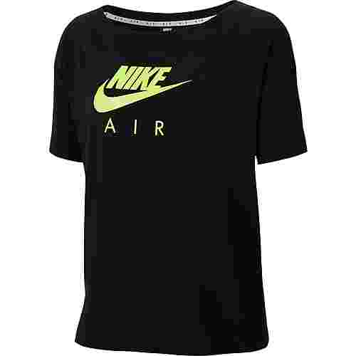 Nike NSW Air T-Shirt Damen black-volt