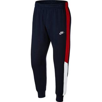 Nike NSW Sweathose Herren obsidian/university red/white/white