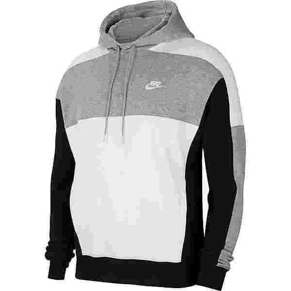 Nike NSW Hoodie Herren dk grey heather/black/white/white