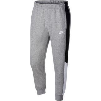 Nike NSW Sweathose Herren dk grey heather/black/white/white
