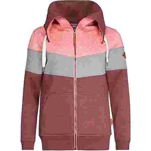 Protest Sweatjacke Damen think pink