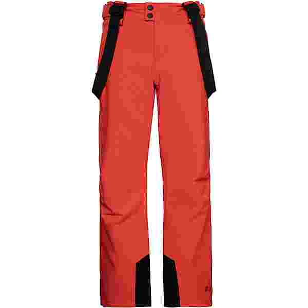 Protest Bork Snowboardhose Kinder orange fire