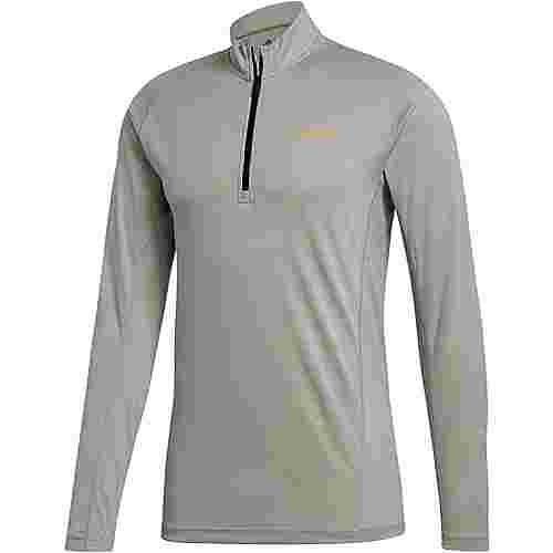 adidas TraceRocker Fleeceshirt Herren metal grey