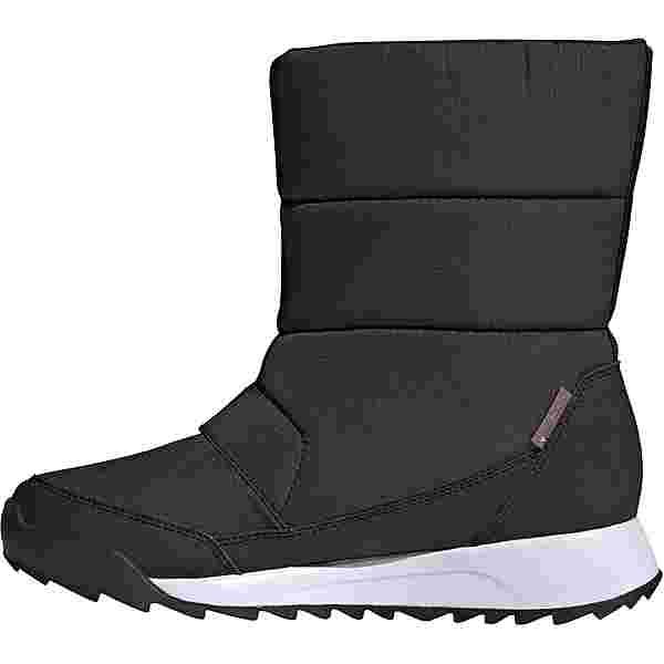 adidas CHOLEAH BOOT Stiefel Damen core black-ftwr white-grey four f17