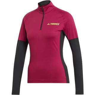 adidas Fleeceshirt Damen power berry
