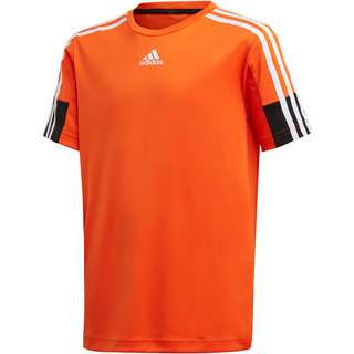 adidas B A.R. 3S TEE Funktionsshirt Kinder orange