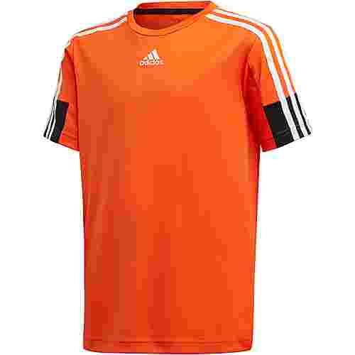adidas B A.R. 3S TEE Funktionsshirt Kinder orange