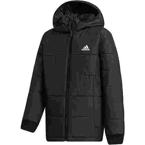 adidas YK J PADDING Steppjacke Kinder black