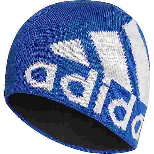 adidas BIG LOG BE A.R. Beanie Kinder team royal blue