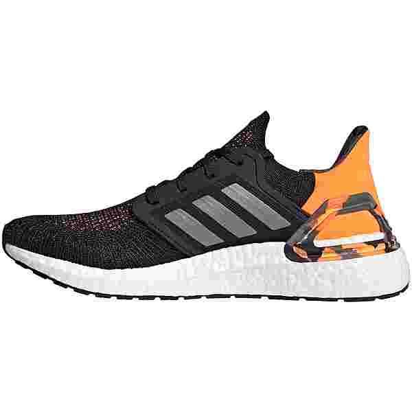 adidas Ultraboost 20 Laufschuhe Herren core black/grey three/signal orange