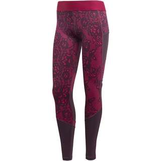 adidas Alphaskin adidas iterations Tights Damen power berry
