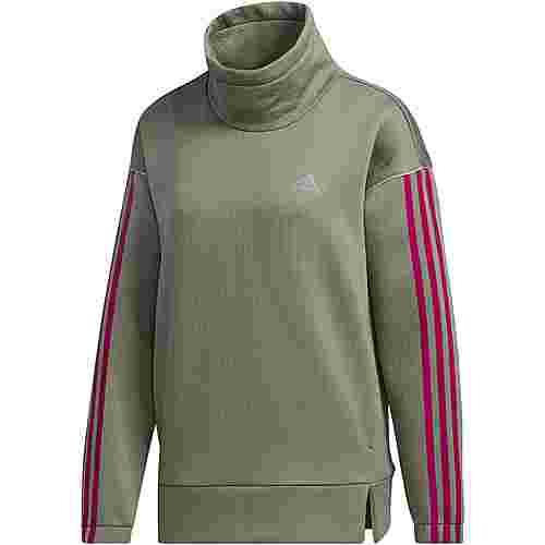 adidas Intuitive Warmth Sweatshirt Damen legacy green