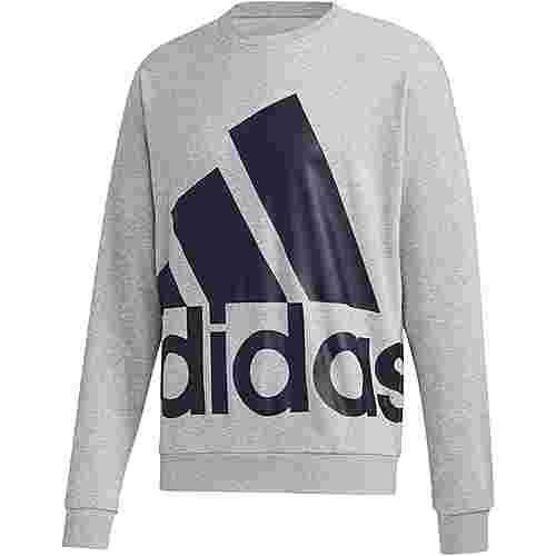 adidas Sweatshirt Herren medium grey heather