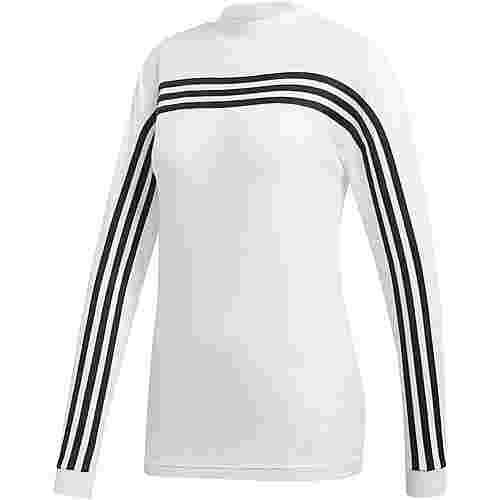 adidas Must Haves 3 Stripes Langarmshirt Damen white
