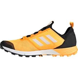 adidas Speed Trailrunning Schuhe Herren solargold-cwhite-coreblack