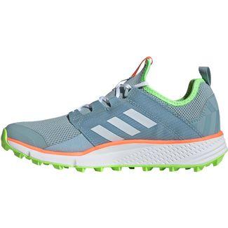 adidas Speed LD Trailrunning Schuhe Damen ash grey-cloud white -signal green