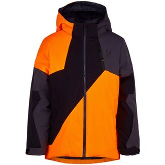 Spyder Ambush Skijacke Kinder bryte orange
