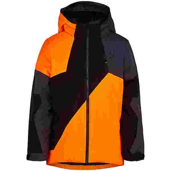 Spyder Ambush Skijacke Kinder bryte orange