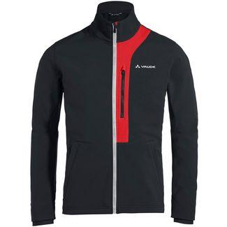 VAUDE Men's Virt Softshell Jacket Fahrradjacke Herren black-red