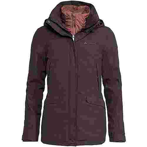 VAUDE Skomer 3in1 Doppeljacke Damen pecan brown