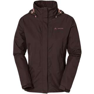 VAUDE Escape Light Regenjacke Damen pecan brown