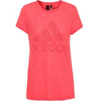 adidas Winners T-Shirt Damen semi flash red