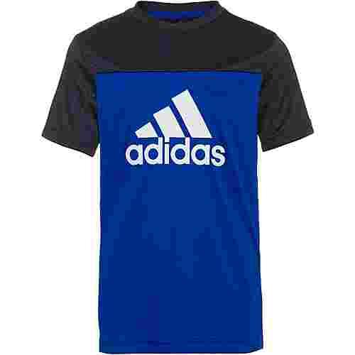 adidas YB TR EQ TEE Funktionsshirt Kinder team royal blue