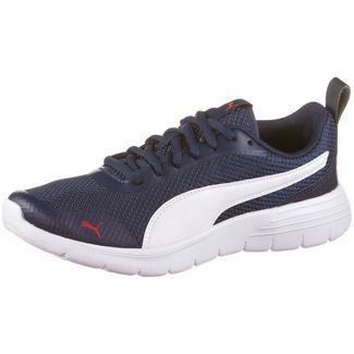 PUMA Flex Renew Jr Sneaker Kinder peacoat-puma white