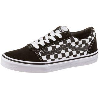 Vans YT Ward Sneaker Kinder black-true white