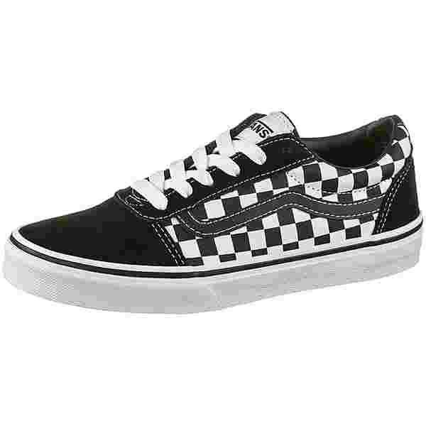 Vans WARD SUEDE Sneaker Kinder black-true white
