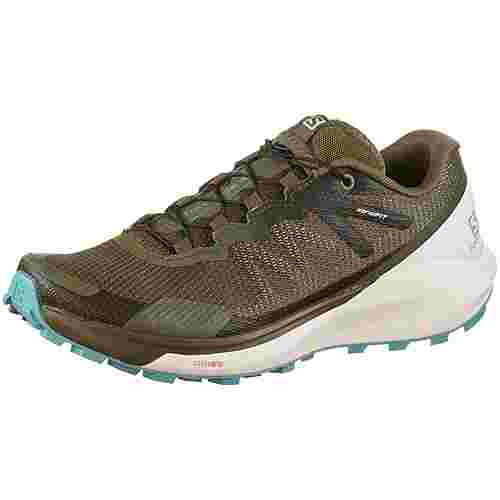 Salomon SENSE RIDE 3 Laufschuhe Damen olive night-vanilla-meadowbrook