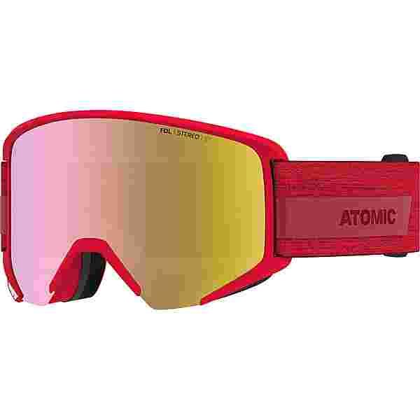 ATOMIC SAVOR BIG STEREO Skibrille red