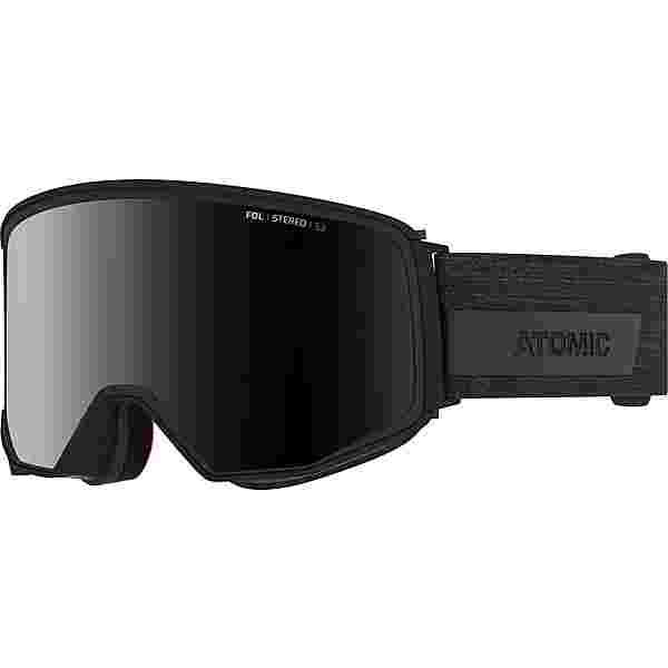 ATOMIC FOUR Q STEREO Skibrille black
