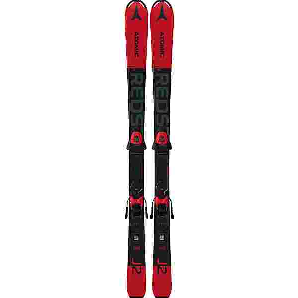 ATOMIC REDSTER J2 130-150 + L 6 GW All-Mountain Ski Kinder red-black