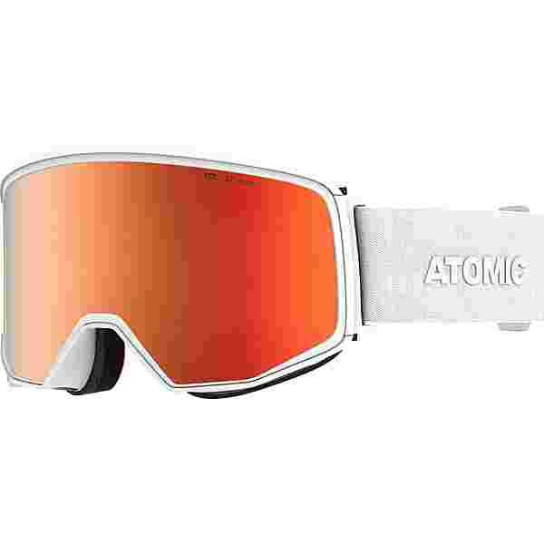 ATOMIC FOUR Q STEREO Skibrille white